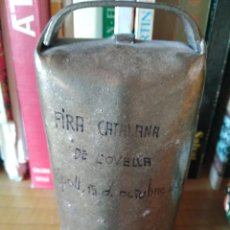Artesanía: ESQUELLA RIPOLL FIRA CATALANA OVELLA. Lote 176807017