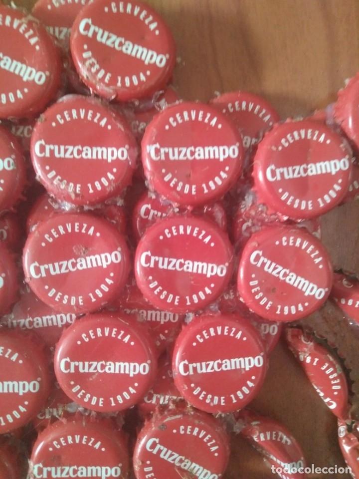 Artesanía: Cuadro Cangrejo con chapa de cruzcampo - Foto 5 - 173123927