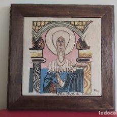 Artesanía: SOCARRAT VALENCIANO. SANTA MARÍA DE TAHULL.. Lote 177683650