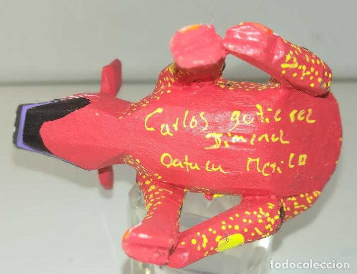Artesanía: ALEBRIJE. ESTATUILLA DE UN CERDO FANTÁSTICO - Foto 3 - 178776732