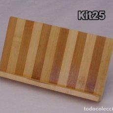 Artesanía: MADERA SOPORTE DE MESA PARA TABLET TABLETA O TELÉFONO MOVIL 7 PULGADAS . Lote 180037766