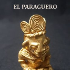 Artesanía: CULEBRERO PRECOLOMBINA QUIMBAYA DE ORO TUMBAGA PESO 62,7 GRAM - Nº19. Lote 180963343