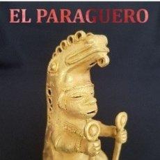 Artesanía: HOMBRE CAIMAN PRECOLOMBINA TAIRONA DE ORO TUMBAGA PESO 94,6 GRAM - Nº38. Lote 180969352