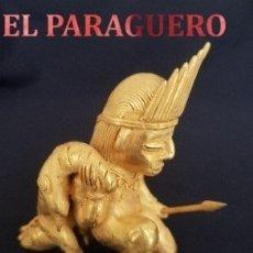 Artesanía: CAZADOR DE CAIMANES PRECOLOMBINA TAIRONA DE ORO TUMBAGA PESO 96 GRAM - Nº42. Lote 180971273