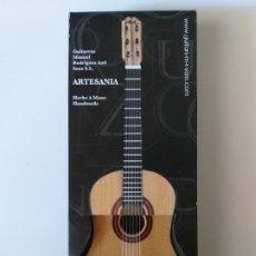 Artesanía: MINI GUITARRA ATESANAL MANUEL RODRIGUEZ AND SONS. Lote 181163417