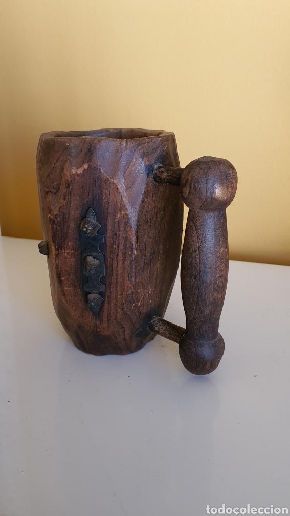 Artesanía: Jarra de cerveza en madera - Foto 2 - 182263555