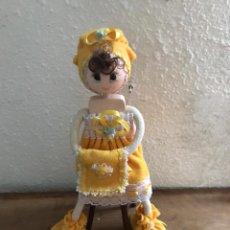 Artesanía: MUÑECA DE TRAPO. Lote 182410588
