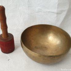 Artesanía: CUENCO TIBETANO 1020GR.. Lote 182963246