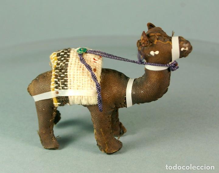 Artesanía: CAMELLO DROMEDARIO De piel de Camello y Tela - Hecho y cosido a mano Vintage - Foto 2 - 183510285