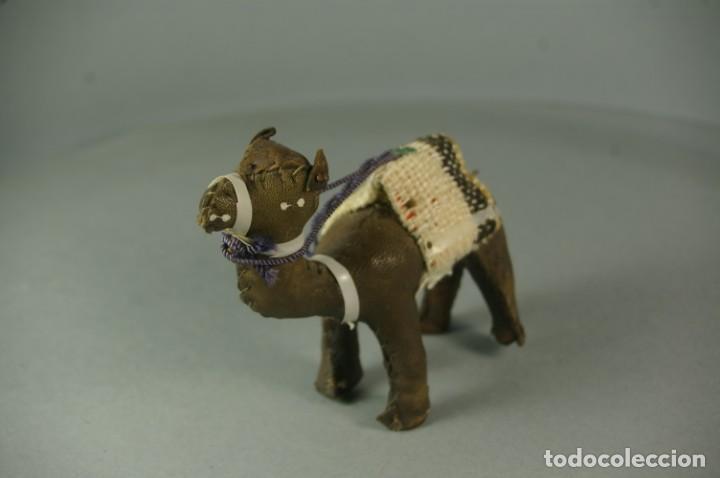 Artesanía: CAMELLO DROMEDARIO De piel de Camello y Tela - Hecho y cosido a mano Vintage - Foto 3 - 183510285