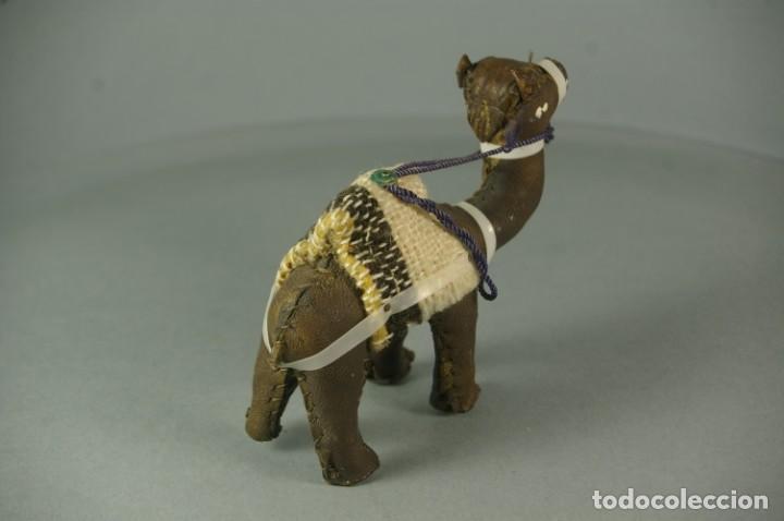 Artesanía: CAMELLO DROMEDARIO De piel de Camello y Tela - Hecho y cosido a mano Vintage - Foto 4 - 183510285