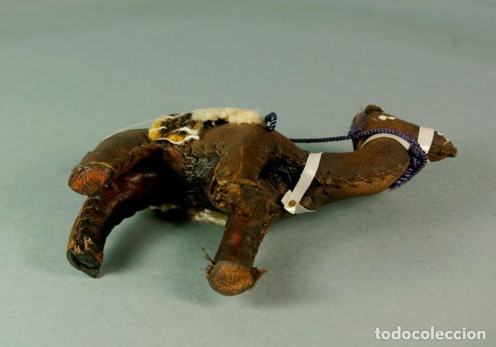 Artesanía: CAMELLO DROMEDARIO De piel de Camello y Tela - Hecho y cosido a mano Vintage - Foto 5 - 183510285