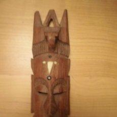 Artesanía: CARETA AFRICANA EN MADERA. Lote 184216793
