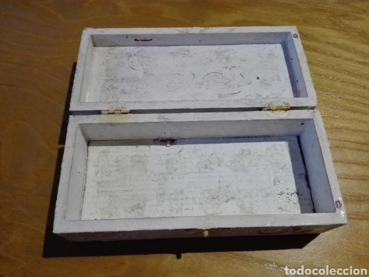 Artesanía: Caja de madera pintado a mano - Foto 2 - 193857648
