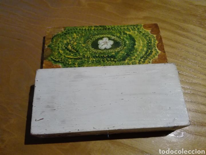 Artesanía: Caja de madera pintado a mano - Foto 3 - 193857648