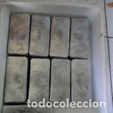 Artesanía: LOTE 20 KILOS LIMPIOS DE LINGOTES DE PLOMO. Lote 194240751
