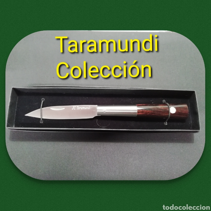 NAVAJA ARTESANA TARAMUNDI, ESPECIAL COLECCIONISTA (Artesanía - otros articulos hechos a mano)
