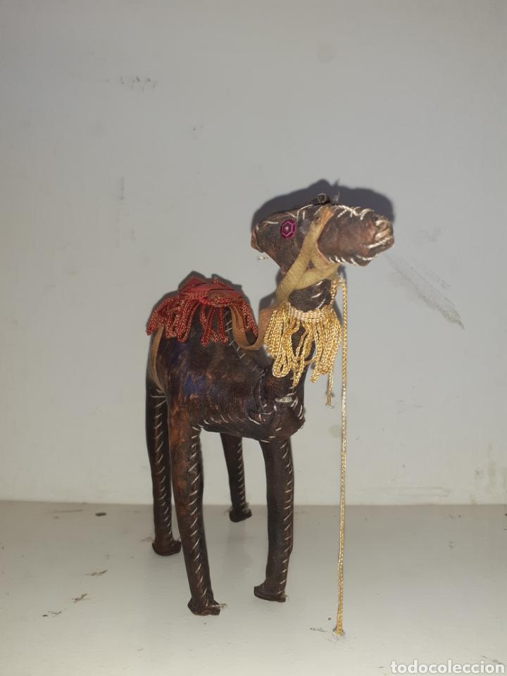 CAMELLO O DROMEDARIO AFRICANO DE PIEL (Artesanía - otros articulos hechos a mano)