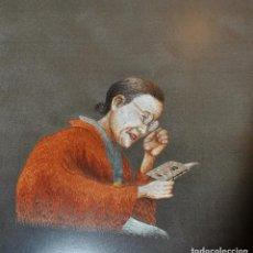 Artesanía: CUADRO JAPONES SOBRE SEDA BORDADO A MANO . Lote 195356208