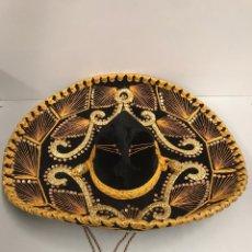 Artesanía: SOMBRERO MEXICANO PIGALLE. Lote 197565280
