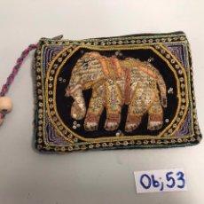 Artesanía: MONEDERO DE LA INDIA. Lote 198117001