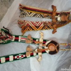 Artesanía: COLGANTES TEXTILES. CHILE. Lote 202834215