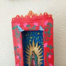 Artesanía: NICHO - ALTAR MEXICANO. Lote 204984297