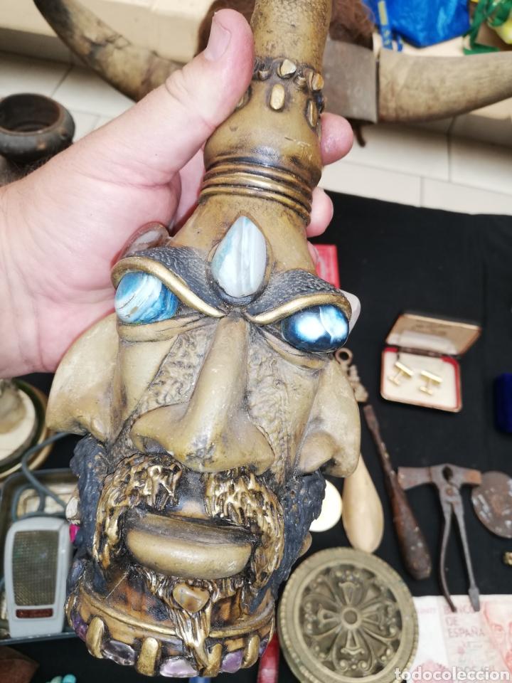 Artesanía: Botella artesanal de la Amazona or tribu.. Piedras naturales.. Amatista..etc..con cuatro cara.. - Foto 3 - 220609707