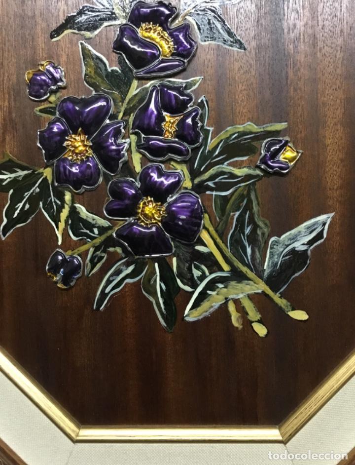 Artesanía: Esmaltes enmarcados con doble marco octogonal - Foto 3 - 222821095