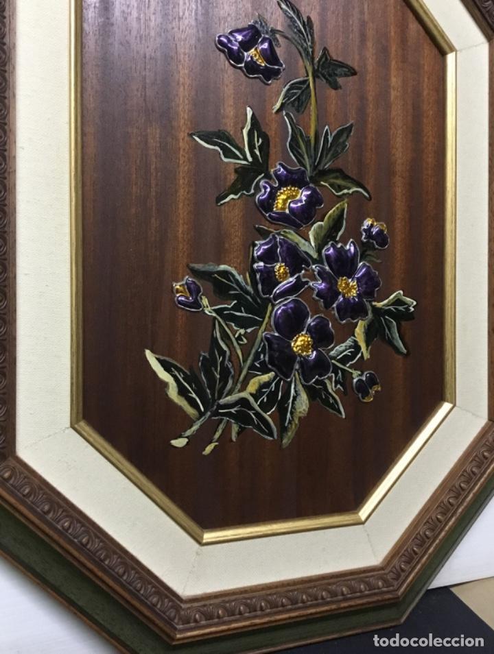 Artesanía: Esmaltes enmarcados con doble marco octogonal - Foto 4 - 222821095