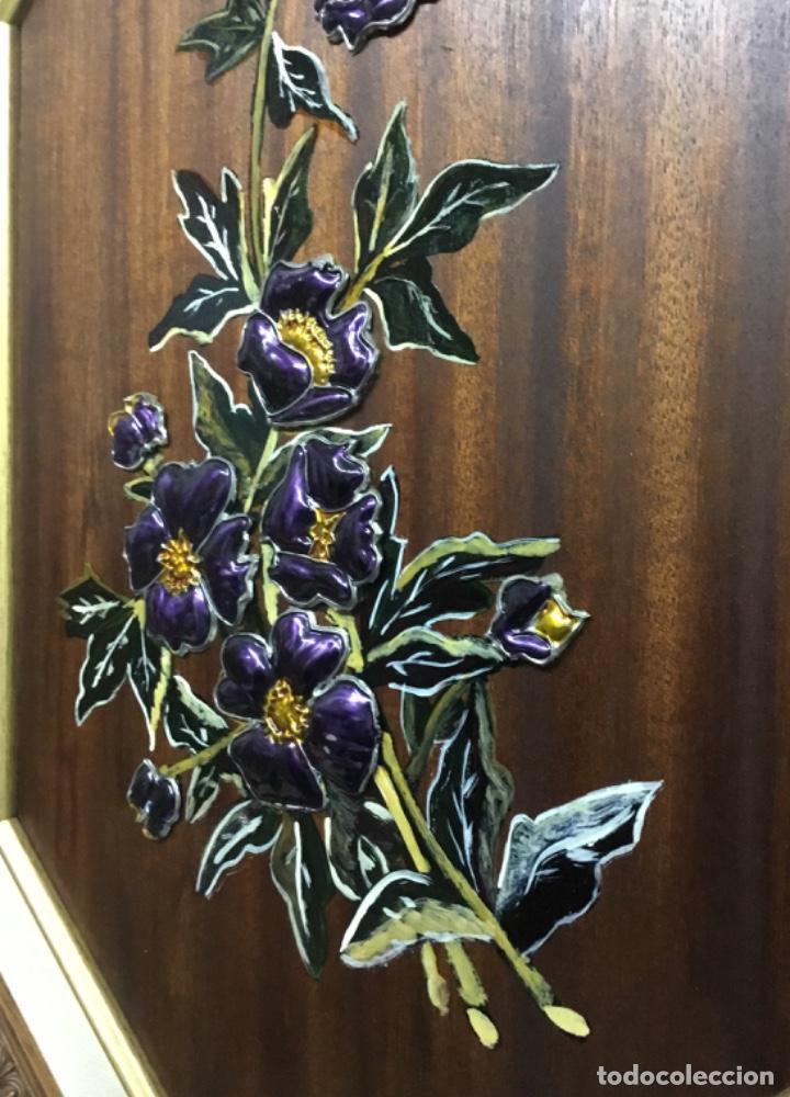 Artesanía: Esmaltes enmarcados con doble marco octogonal - Foto 5 - 222821095