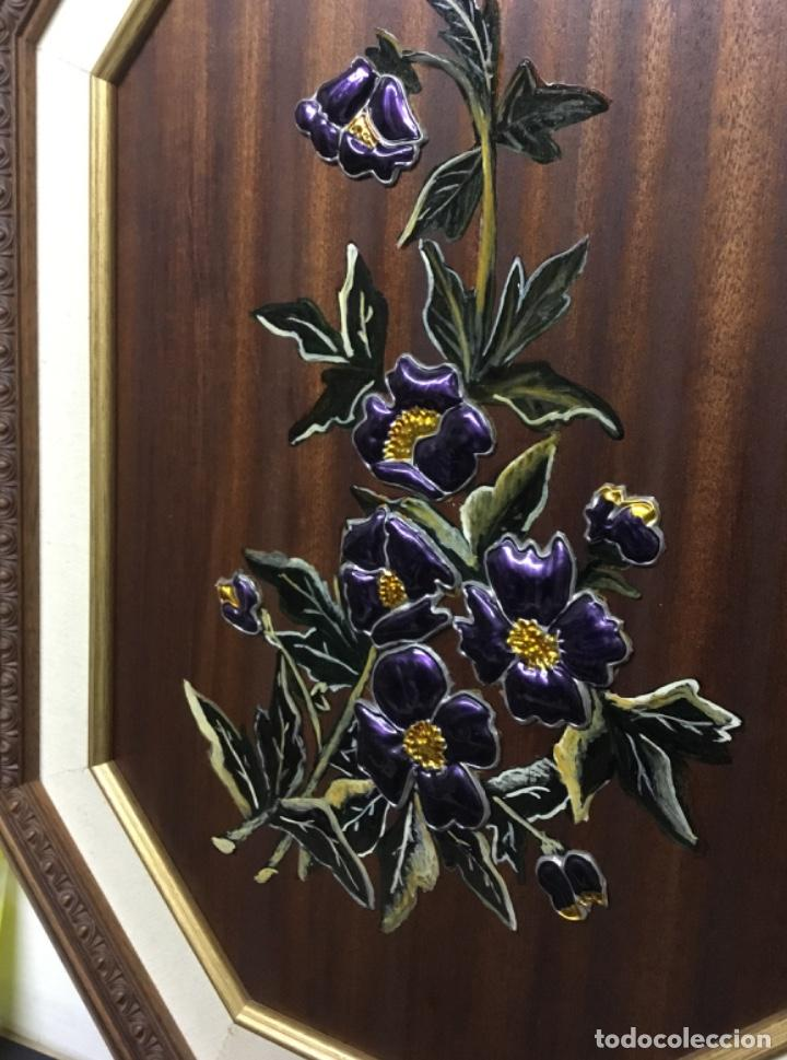 Artesanía: Esmaltes enmarcados con doble marco octogonal - Foto 6 - 222821095