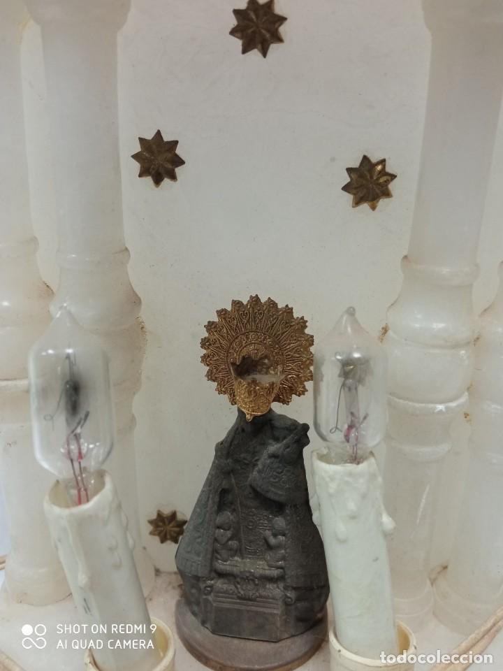 Artesanía: Virgen Pilar marmol - Foto 2 - 232093945