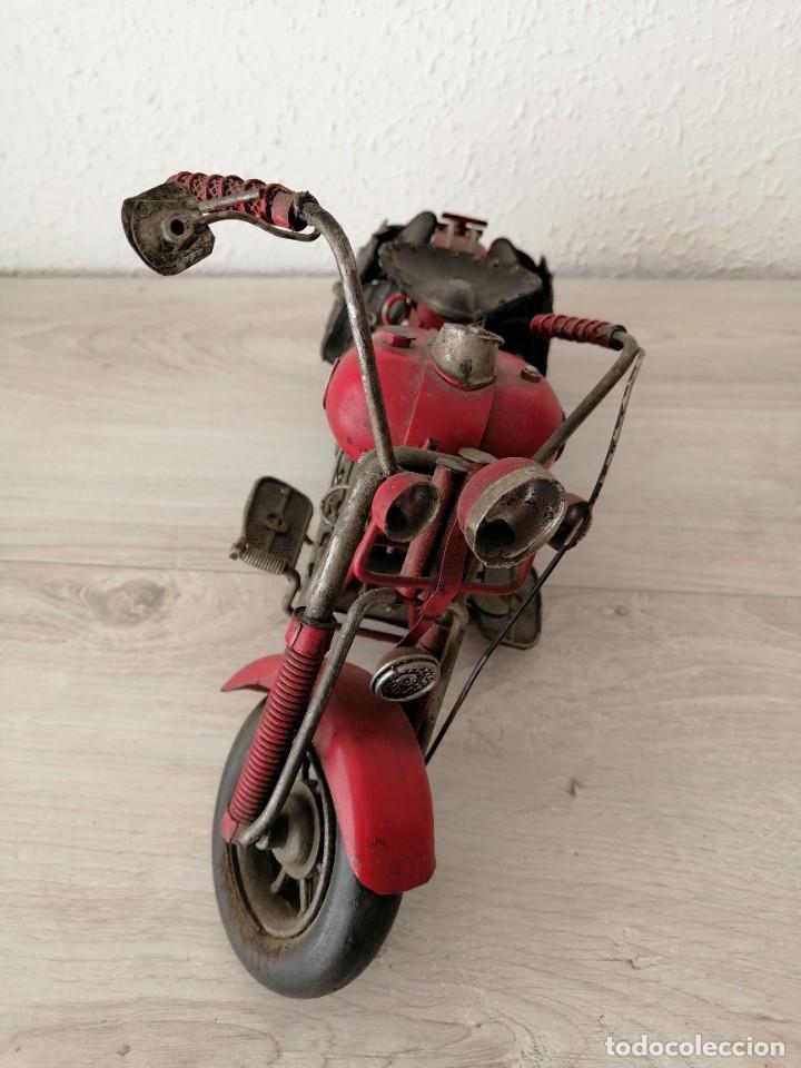 MOTOCICLETA DKT (Artesanía - otros articulos hechos a mano)