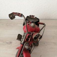 Artesanía: MOTOCICLETA DKT. Lote 233961805