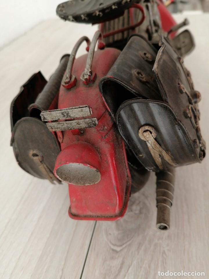 Artesanía: Motocicleta DKT - Foto 12 - 233961805