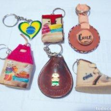 Artesanía: LLAVEROS DE SUDAMÉRICA. Lote 260293930