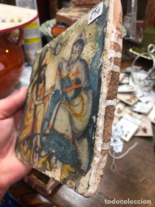 Artesanía: AZULEJO RELIGIOSO - MEDIDA 14X14 CM - REPRODUCCION - Foto 2 - 262702720