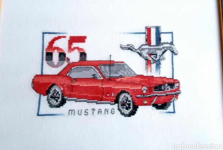 Artesanía: FORD MUSTANG 65 - CUADRO DECORATIVO - PUNTO DE CRUZ - 65 X30 cm - Foto 2 - 271916873