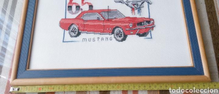 Artesanía: FORD MUSTANG 65 - CUADRO DECORATIVO - PUNTO DE CRUZ - 65 X30 cm - Foto 7 - 271916873