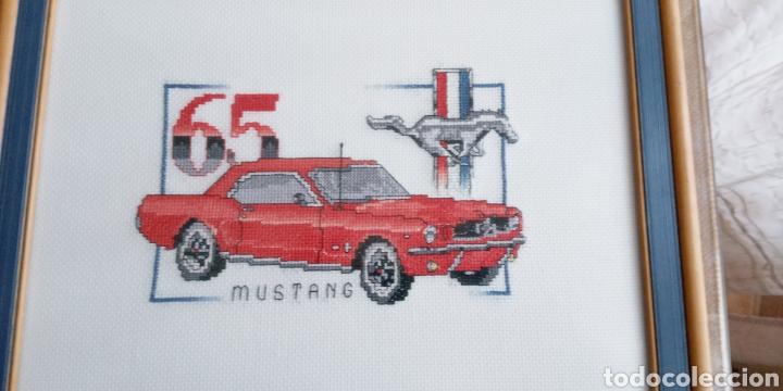 Artesanía: FORD MUSTANG 65 - CUADRO DECORATIVO - PUNTO DE CRUZ - 65 X30 cm - Foto 10 - 271916873