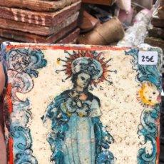 Artesanía: AZULEJO - MEDIDA 14X14 CM - REPRODUCCION - RELIGIOSO. Lote 273156178