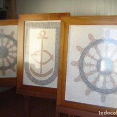 Artesanía: MOSAICOS DEL ANTIGUO EDIFICIO DE LA ESCUELA NAUTICO PESQUERA. Lote 278580368
