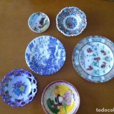 Artesanía: 6 PLATOS DE CERÁMICA DE DIVERSOS PAÍSES.. Lote 296631163