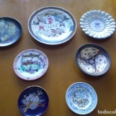 Artesanía: 7 PLATOS DE CERÁMICA DE DIVERSOS PAÍSES.. Lote 296632883
