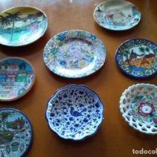 Artesanía: 8 PLATOS DE CERÁMICA DE DIVERSOS PAÍSES.. Lote 296684768
