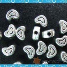 Artesanía: LOTE DE 20 ESPACIADORES DE PLATA. ¡¡¡AHORRA EN GASTOS DE ENVIO!!! . Lote 26941772