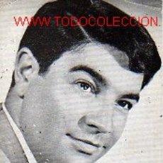 Autógrafos de Música : AUTOGRAFO DEL FAMOSO CANTANTE LORENZO VALVERDE-1964. Lote 17112501