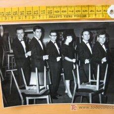 Autógrafos de Música : FOTOGRAFIA CON AUTOGRAFO DE LOS NUEVOS QUANDO'S. Lote 10607263