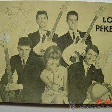 Autographes de Musique : 9357 LOS PEKES FOTOGRAFIA DEDICADA CON AUTOGRAFO MUSICA AÑOS 1960 MAS EN MI TIENDA C&C. Lote 13536033